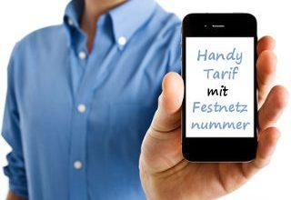 Telefonanschluss ohne Internet über Mobilfunk